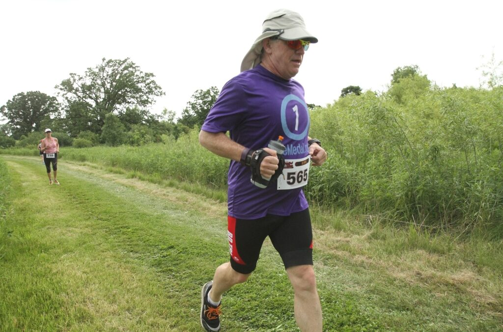 One Medal for Greg – Capitol View Triathlon