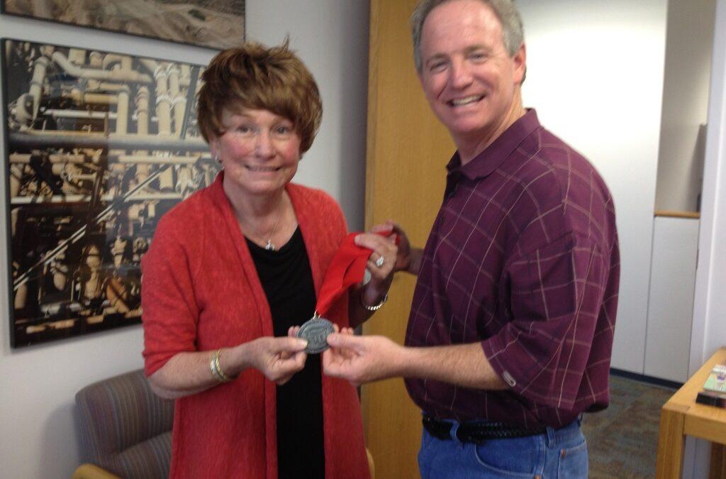 One Medal for Linda Kay